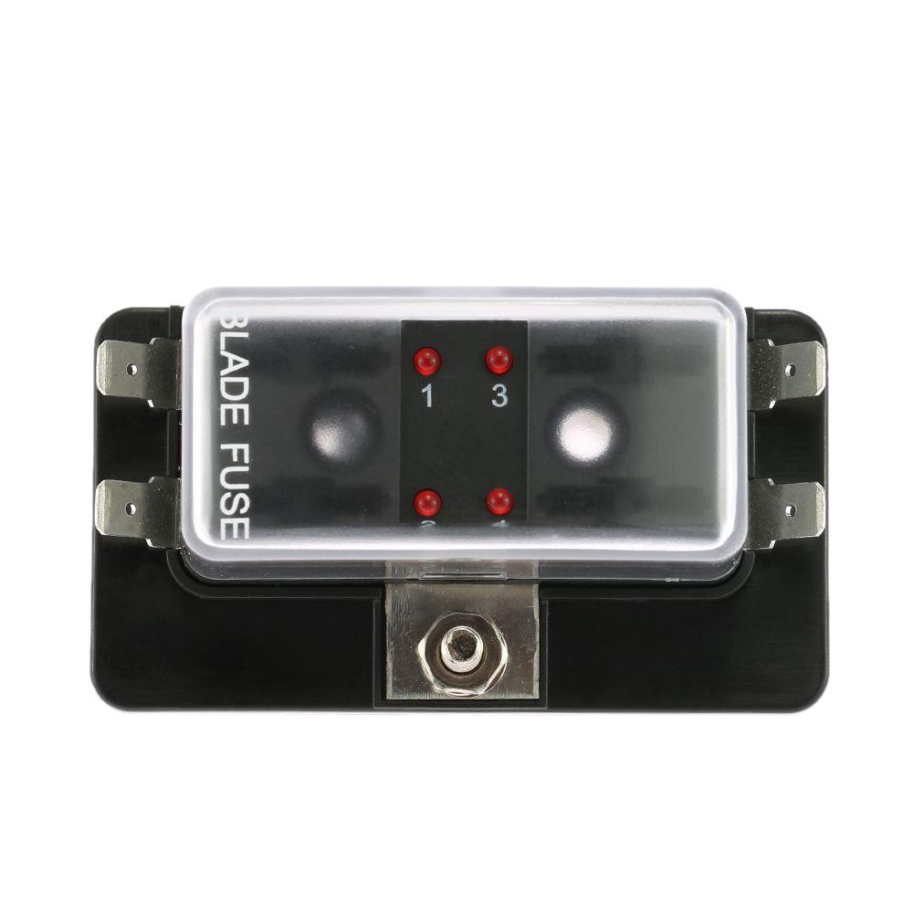 medium resolution of gro handel 4 way blade fuse box halter mit led warnlicht kit f r auto boot marine trike 12 v 24 v von renhuai888 23 13 auf de dhgate com dhgate