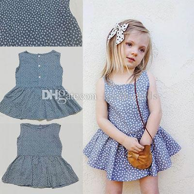 2019 children clothing floral