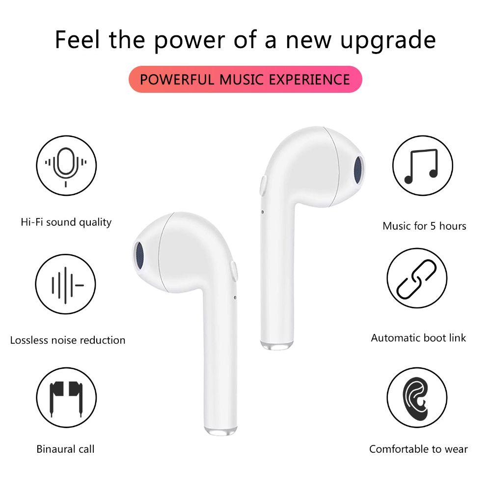 TWS Bluetooth 5.0 Wireless Headphones Sports Headphones