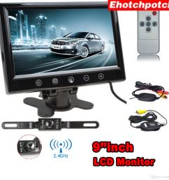 in the box 1x 7 inch tft lcd mirror monitor 1x power cable 1x car backup camera 1x wireless transmitter 1x wireless receiver 1x installing diagram [ 1600 x 1600 Pixel ]