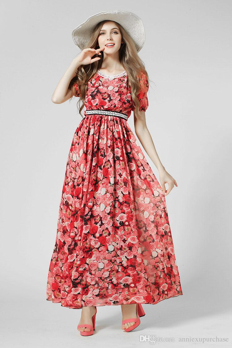 Floral Casual Wear
