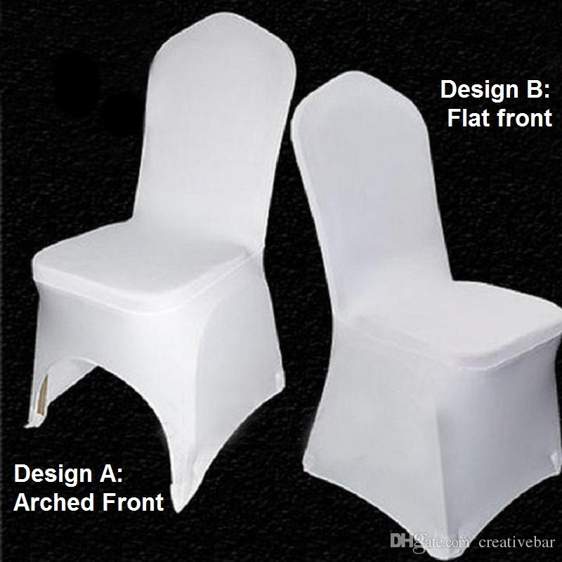 chair covers universal ebay salon chairs stretch wedding white polyester spandex cover for weddings banquet folding hotel party decoration decor recliner couch rental