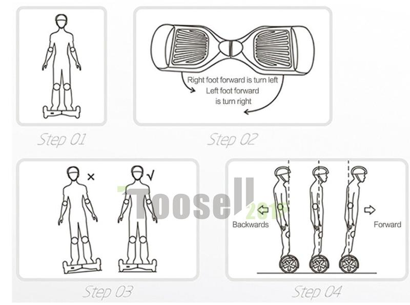 US Stock Hoverboard 6.5 Inch 2 Wheels Electric Scooters