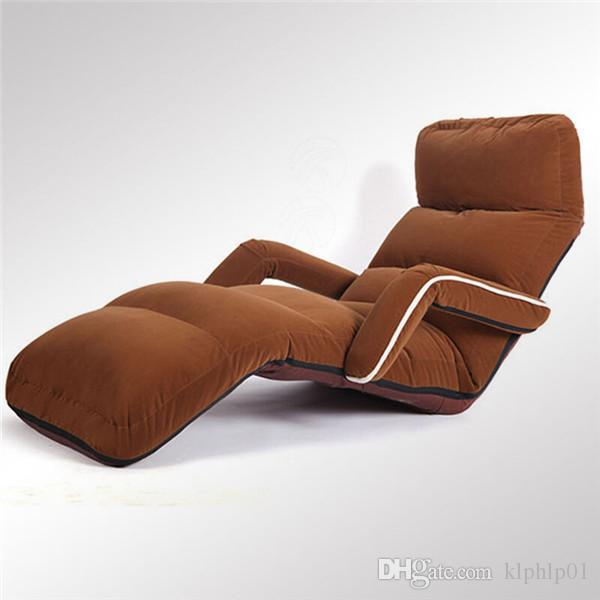 lounge chair living room furniture bed 2019 comfortable floor folding sofa armchair modern upholstered adjustable daybed sleeper recliner from klphlp01
