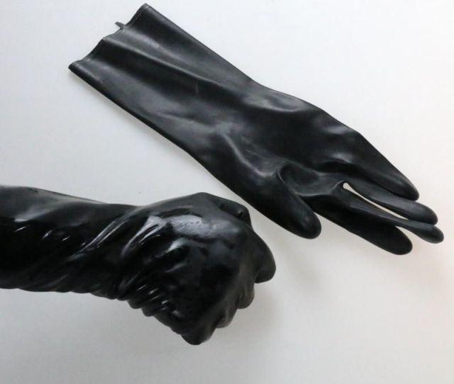 Sexual Fisting Latex Gloves Adult Sex Toys Bdsm Bondage Gear Flirting
