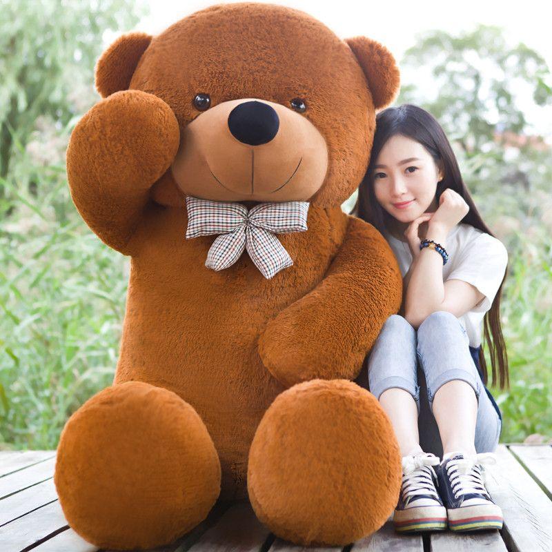 2018 2016 Giant Teddy Bear 200cm Brown Huge Big Stuffed