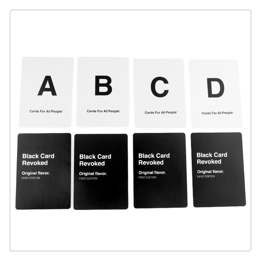 Adult Party Game Black Card Revoked Original Flavor Funny