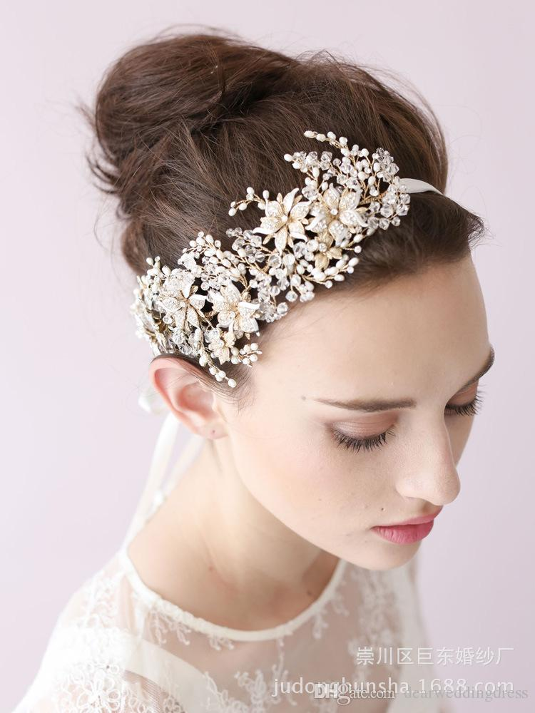 Vintage Hair Accessories Bridal Crown Tiara Wedding