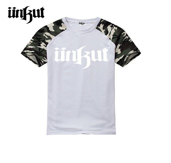 Acheter S 5xl Hip Hop Unkut T Shirt Hommes Courts Tops