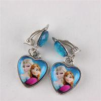 Best Hot Frozen Elsa Anna Princess Girl Earrings Earring ...