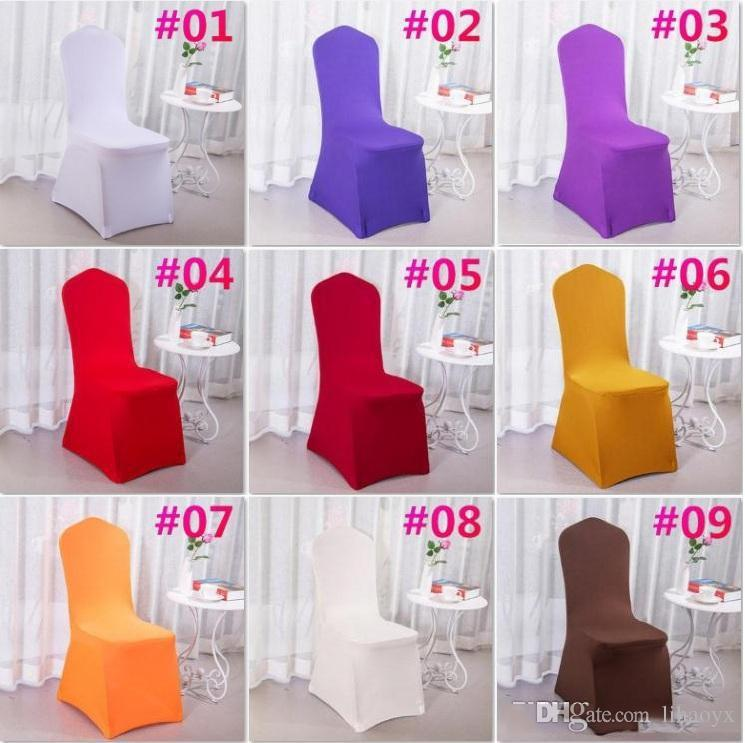 stretch chair covers for folding chairs senior potty polyester wedding party spandex weddings banquet hotel decoration decor c174 dining to buy slipcovers
