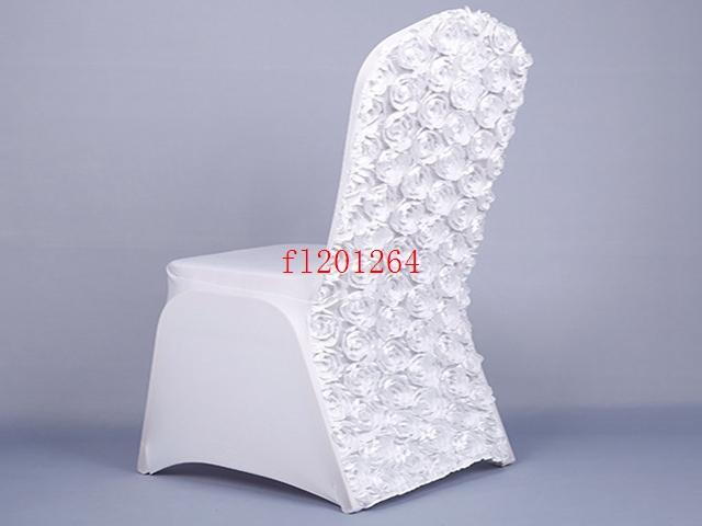 will folding chair covers fit banquet chairs dorm room bed new arrival universal rose satin spandex cover with flower in back for wedding party rental and