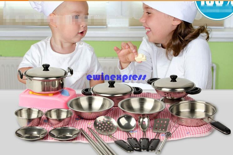 boys play kitchen set aid colors 2019 let s house toys girl boy baby kids sets food cooking tools kitchenware tableware pretend playing from ewinexpress
