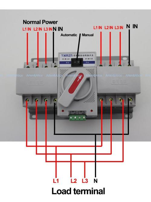 small resolution of 3 phase manual changeover switch wiring diagram somurich com