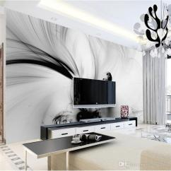 Black And White Wallpaper Ideas For Living Room Pictures Decorating 3d Abstract Wall Murals Lines Stripe Hd Photo Paper Rolls Roomhome Decor Art Painting Backgrounds F From