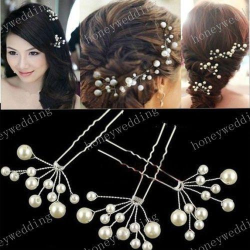 wedding bridal hair accessories bridesmaid pearl flower headpiece hair pins hair pin jewellery bride headdress bridal hair accessories nyc bridal hair