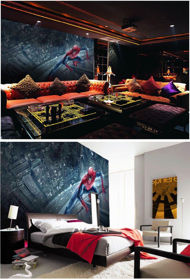 Spiderman Wallpaper Hd Marvel Spiderman Kids Boys Children Photo Wallpaper Custom