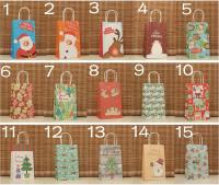 14 Design Paper Gift Bag For Christmas Gift Recyclable ...