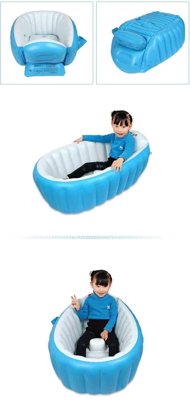 2019 BluePink Kids Inflatable Swimming Pool Portable Baby