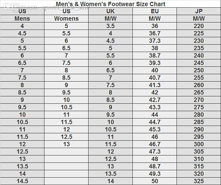 size chart yeezy boost 350 v2 Shop