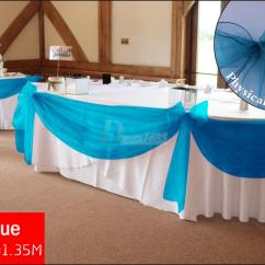 Teal Blue Chair Sashes Black Covers With Silver Sash 2015 New Diy Fabric Wedding Party Sheer Swag