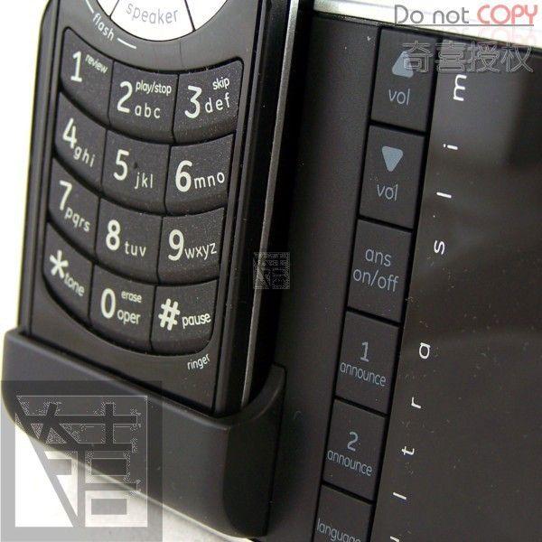 GE 28118 Ultra Slim DECT 6.0 Digital Cordless Phone