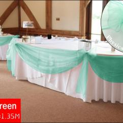Mint Chair Sashes Best Exercise Ball 10 M X 1 35 Green Top Table Swags Sheer Organza
