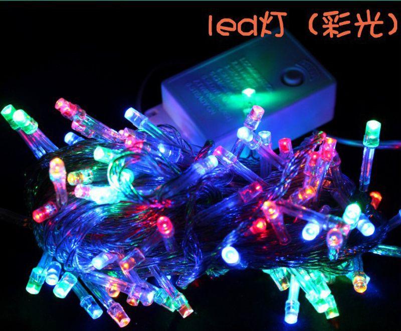 led string lights wedding
