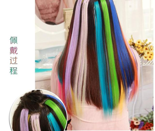 Best Sales Colorful Popular Colored Hair Products Clip On In Hair Extensions 24 Fx18 Blonde Hair Extension Clips Blonde Remy Hair Extensions From Detector