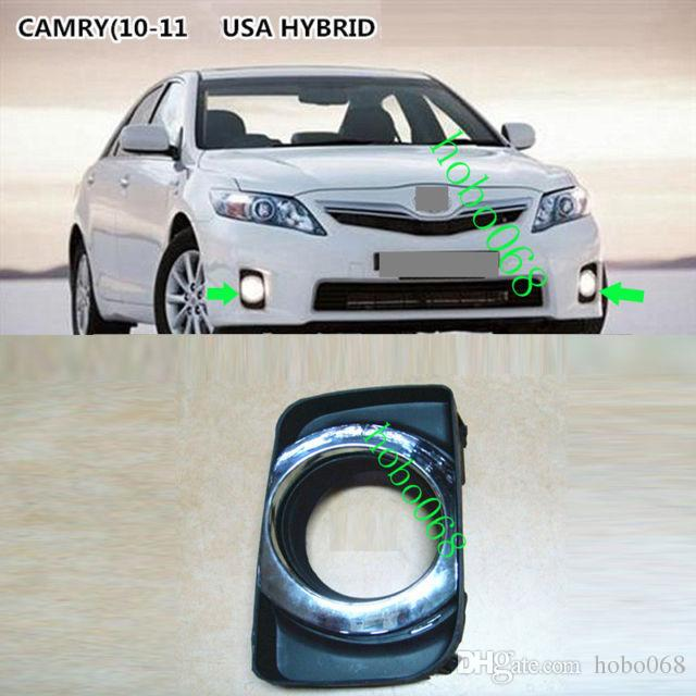 brand new camry hybrid keunggulan grand avanza 2xfor toyota 09 11 car front fog light lamp covers lh and rh no bulbs exterior parts labeled styling from hobo068