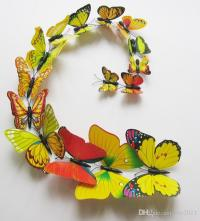 3d Butterfly Wall Decor - ideasplataforma.com
