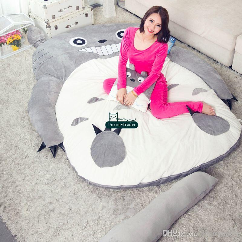 anime bean bag chair melissa and doug wooden table chairs 2019 dorimytrader pop totoro plush beanbag soft sleeping bed sofa tatami 5 sizes kids adults gift decoration dy61809 from
