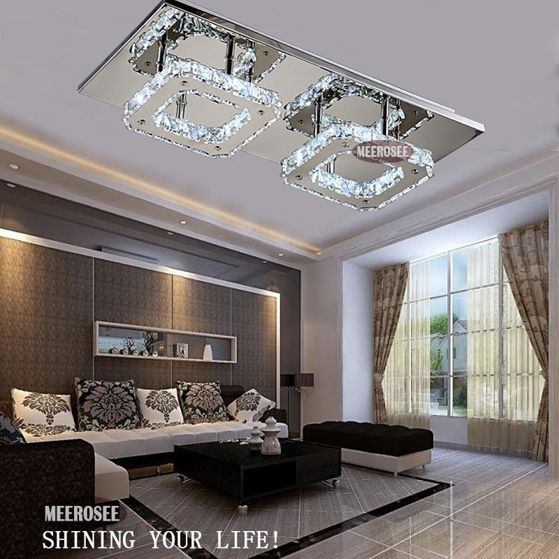 led ceiling light living room owl accessories modern diamond crystal fitting lustres ...