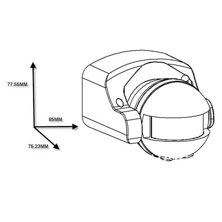 2019 110V 220V Body Sensor IR Infrared Sensors Switch