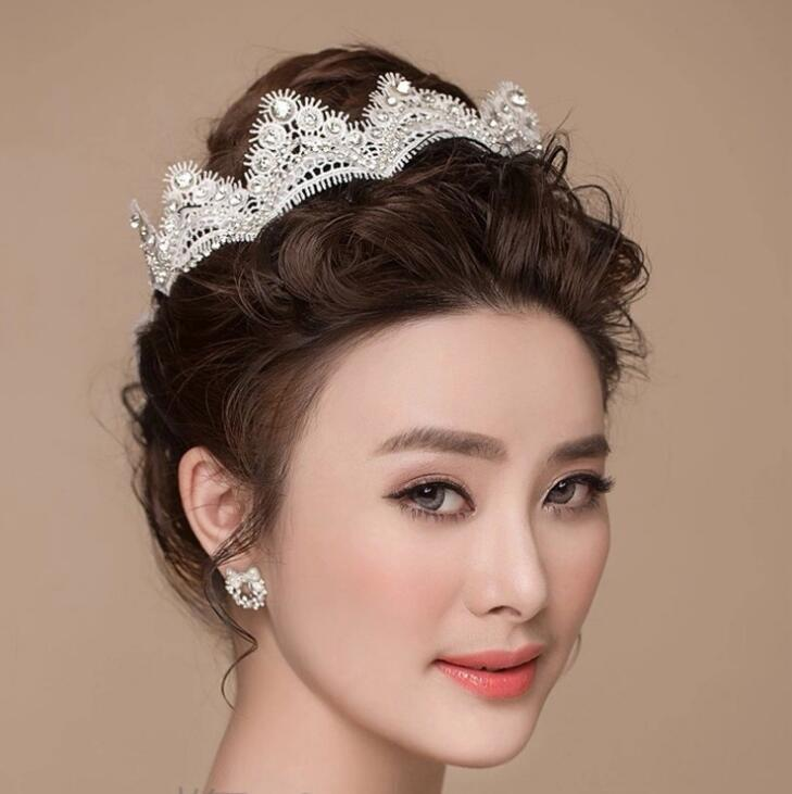 bridal hair comb tiaras crowns wedding hair jewelry neceklace earring cheap wholesale fashion girls evening prom accessories ht08 where to buy bridal hair