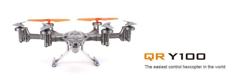 Walkera QR Y100 FPV WIFI Version Drone Helicopters 5.8Ghz