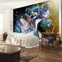 Libra Wallpaper Brilliant Galaxy Photo Wallpaper Custom 3D ...