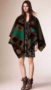Fashion Icon Cape Pashmina Shawl Warm Kimono Style Poncho ...