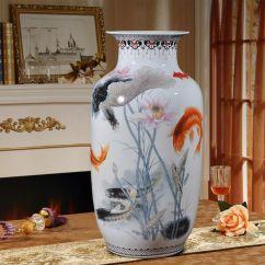 Large Vase For Living Room Home Decor Table Floor Modern Chinese Decorations Jingdezhen Porcelain Payment