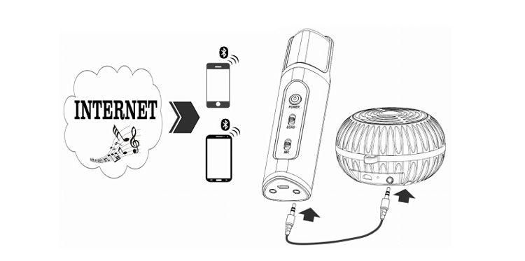 New Arrival Bluetooth Karaoke Gomeir K198 Smart Microphone