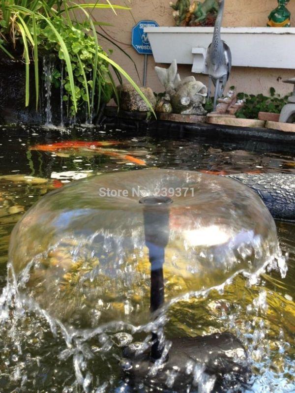 2019 Aquarium Submersible Solar Pump Water Cycle Pond