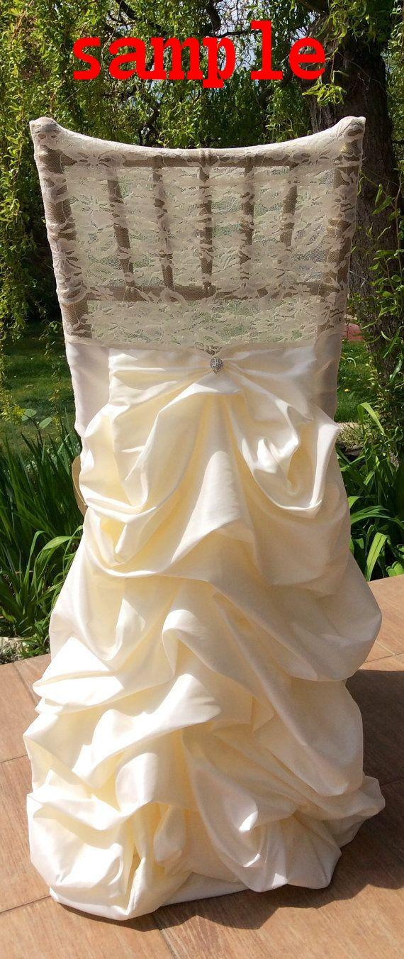 chair covers decorations jrc fishing 2019 2015 lace ruffle taffeta ivory sashes vintage wedding beautiful romantic accessories from irish bridal