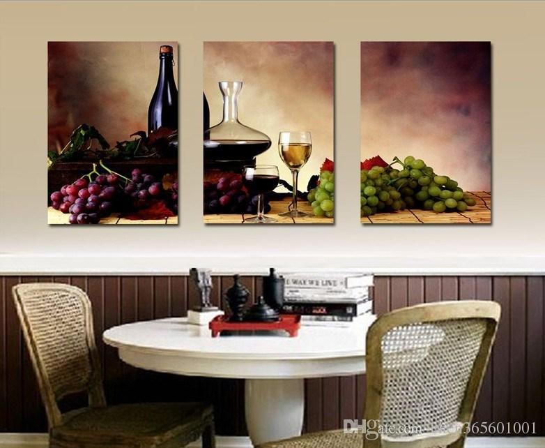 framed prints for kitchens designing modern wall oil painting abstract wine fruit kitchen art picture paint on canvas canada 2019 from chen365601001 cad 21 67 dhgate