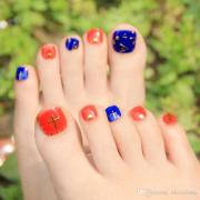 fashion design fake nails sticker