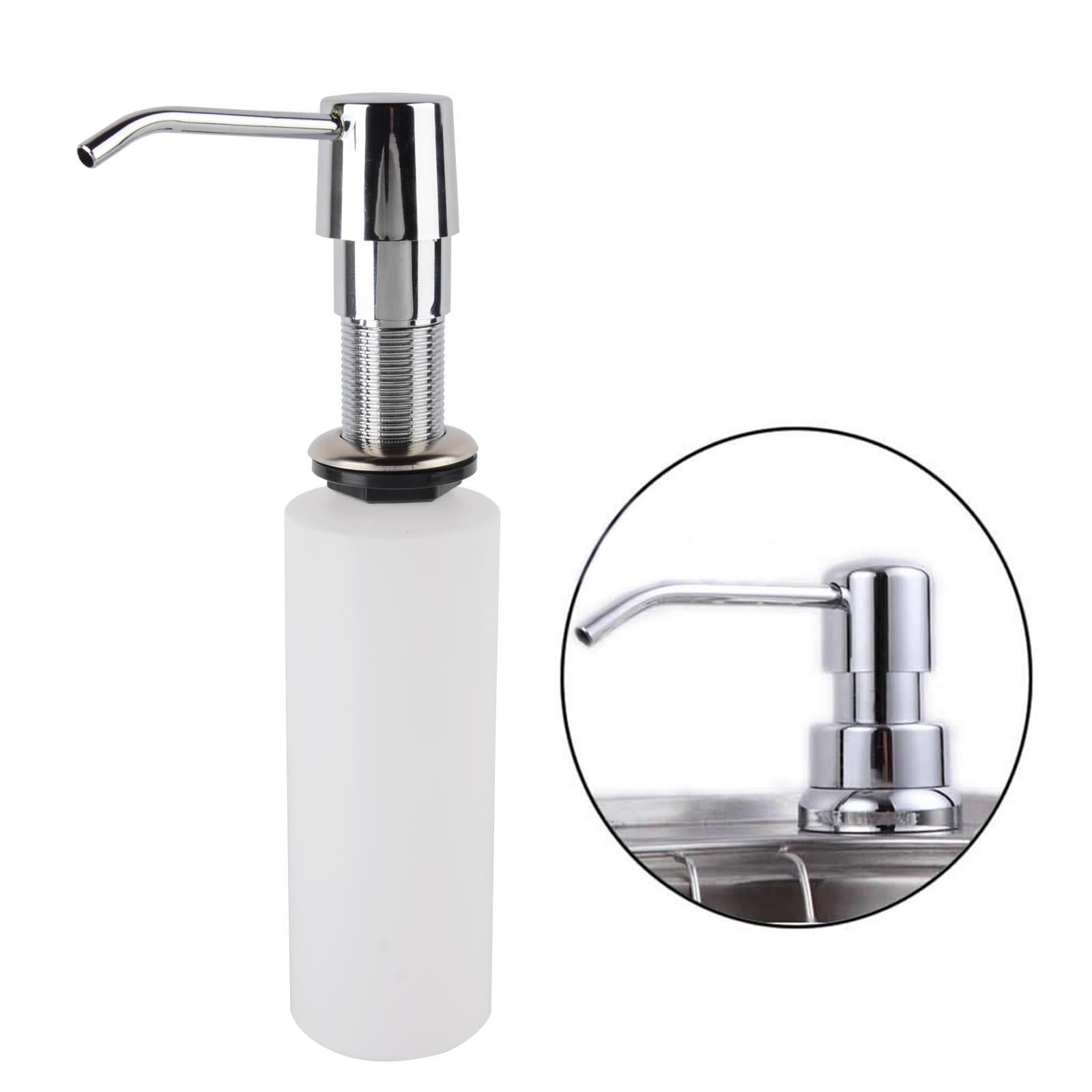 kitchen liquid dispenser where to buy faucets 2019 250ml plastic 43stainless steel 300ml bathroom