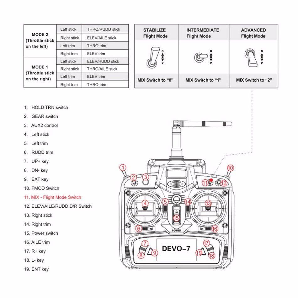 Walkera F210 Professional Racer Drone With 700tvl Camera 5