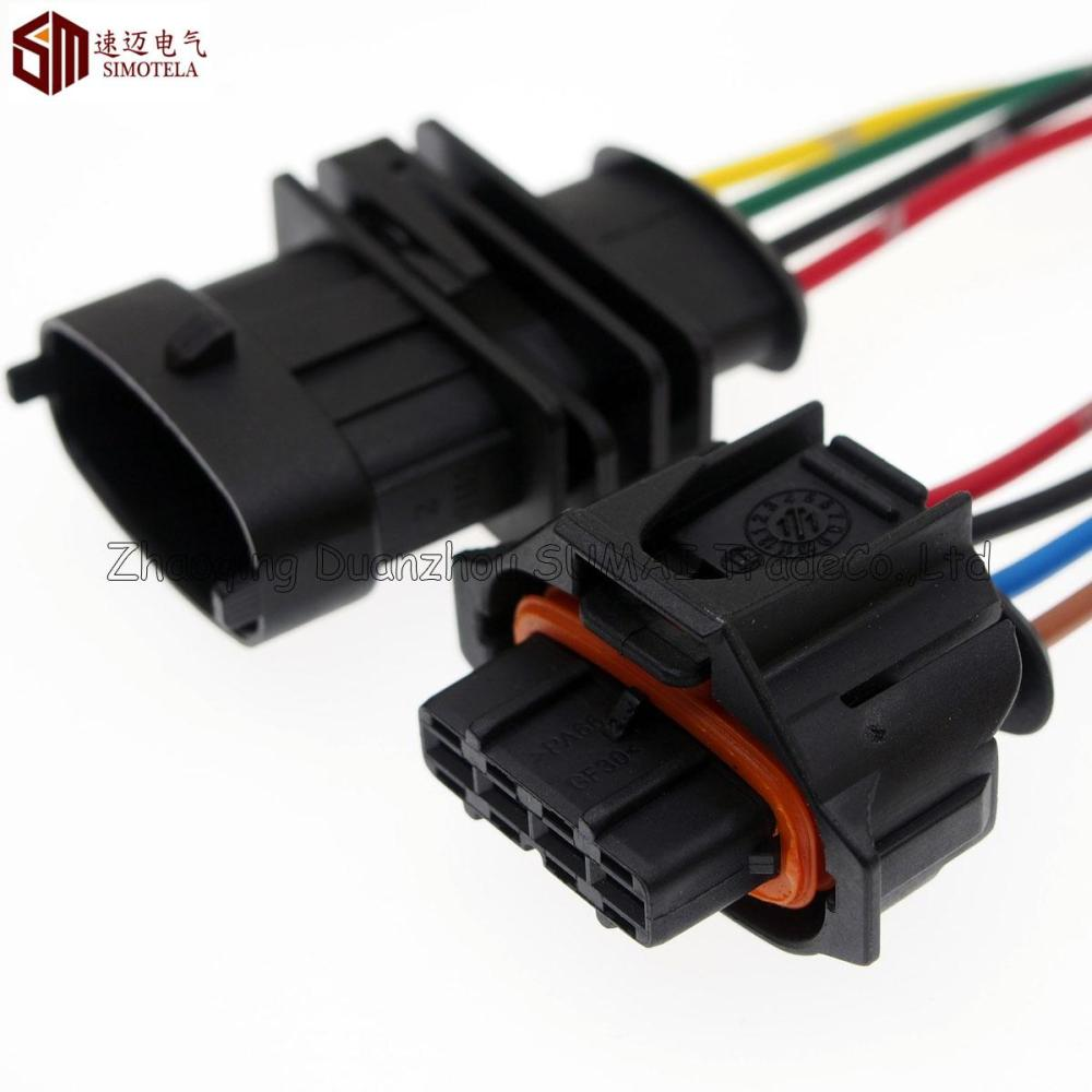 medium resolution of 2019 4pin 3 5mm auto airflow rate sensor connector axle load intake pressure plug auto waterproof plug for bosch connector 4pin from darwinleong