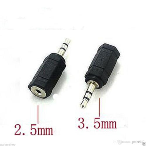 small resolution of jack socket adapter 2 5mm female to 3 5mm male plug audio converter adaptor a6 computer