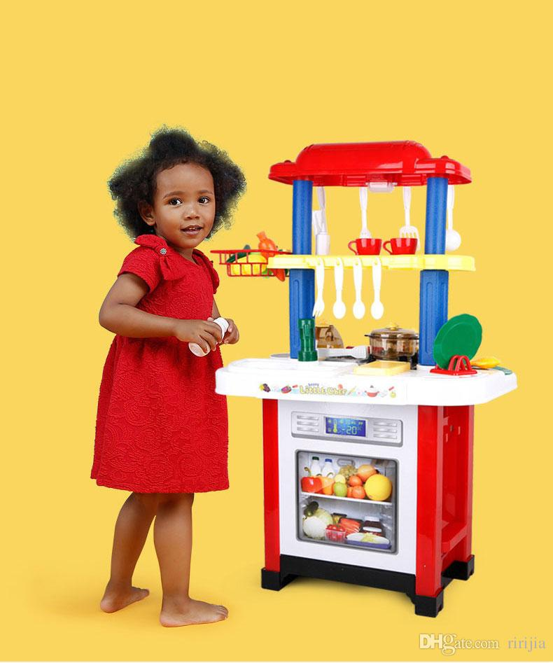 play kitchens for boys free kitchen remodel 2019 beiens brand toys children s set cooking toy simulation and girls pretend from ririjia 99 dhgate com