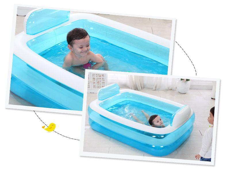 2019 Inflatable Bathtub Folding Tub Thickening Adult